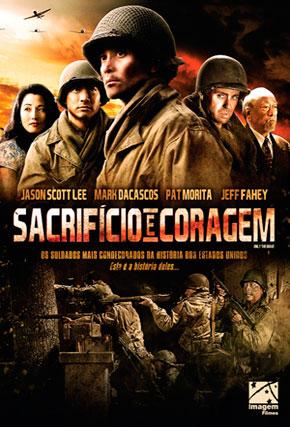 Capa do filme 'Sacrifício e Coragem'