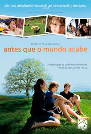 Capa do filme 'Antes que o Mundo Acabe'