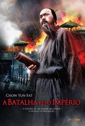 Capa do filme 'A Batalha pelo Império'
