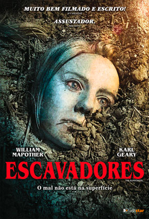 Capa do filme 'Escavadores'