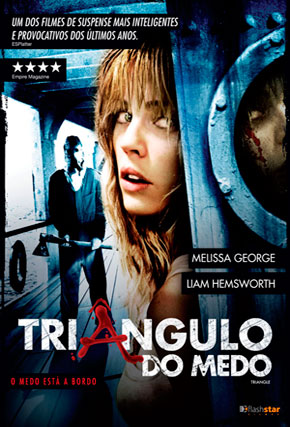 Capa do filme 'Triângulo do Medo'