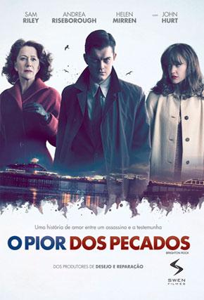 Capa do filme 'O Pior dos Pecados'