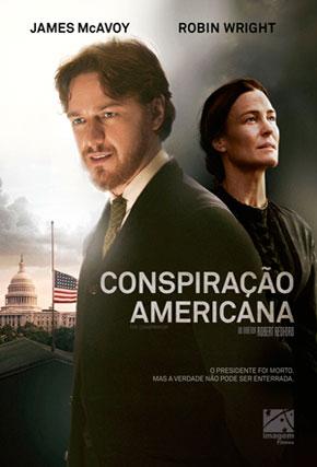 Capa do filme 'Conspiração Americana'