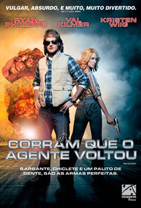 Capa do filme 'Corram Que O Agente Voltou'