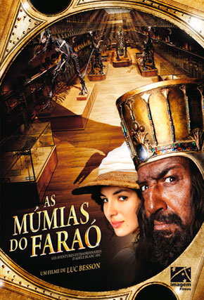 Capa do filme 'As Múmias do Faraó'