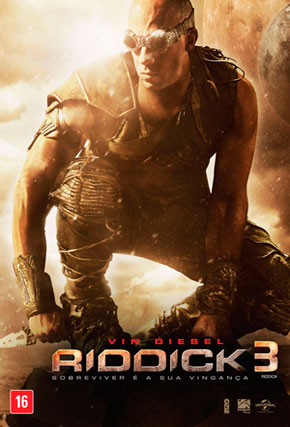 Capa do filme 'Riddick 3'