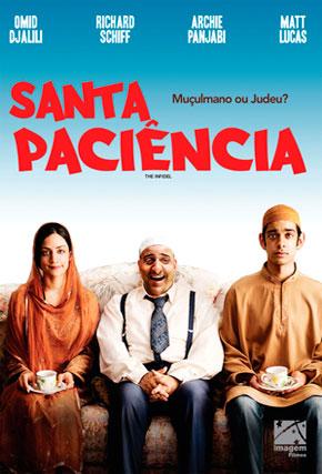 Capa do filme 'Santa Paciência'