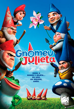 Capa do filme 'Gnomeu e Julieta'