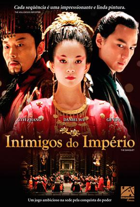 Capa do filme 'Inimigos do Império'