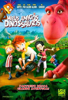 Capa do filme 'Meus Amigos Dinossauros'