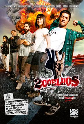 Capa do filme '2 Coelhos'