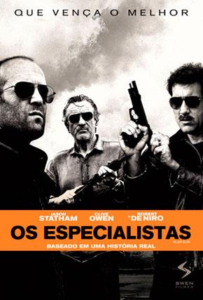 Capa do filme 'Os Especialistas'