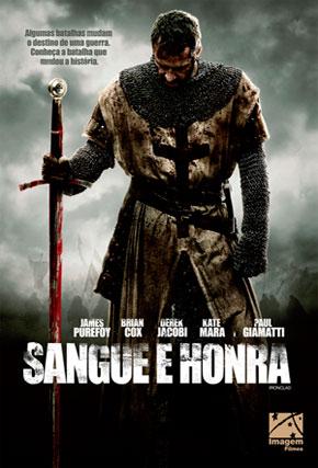 Capa do filme 'Sangue e Honra'