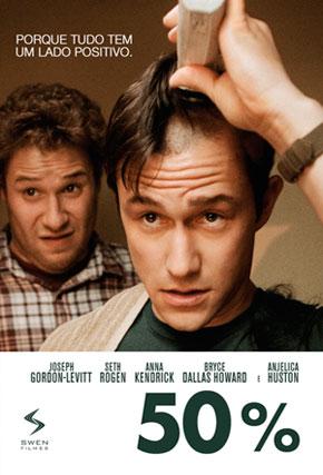 Capa do filme '50%'