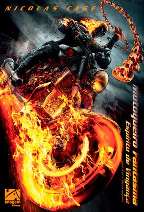Capa do filme 'Motoqueiro Fantasma - Espirito de vingança'