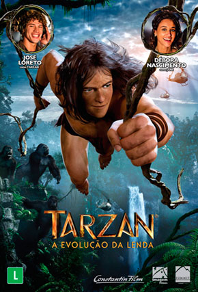 Capa do filme 'Tarzan'