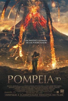 Capa do filme 'Pompeia'