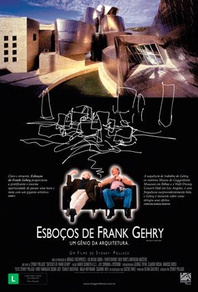 Capa do filme 'Esboços de Frank Gehry'