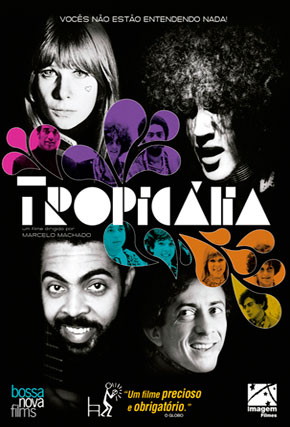 Capa do filme 'Tropicália'
