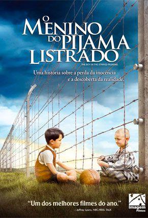 Capa do filme 'O Menino do Pijama Listrado'