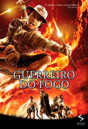 Capa do filme 'Guerreiro do Fogo'