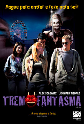 Capa do filme 'Trem Fantasma'