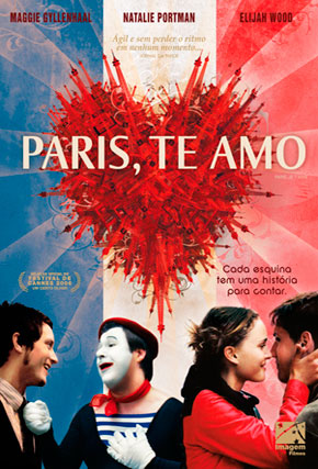 Capa do filme 'Paris, Te Amo'