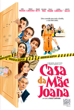 Capa do filme 'Casa da Mãe Joana'