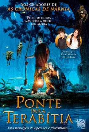 Capa do filme 'Ponte para Terabítia'