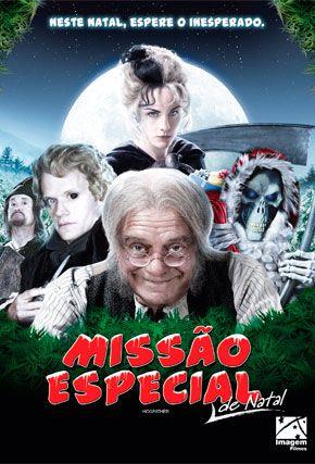 Capa do filme 'Missão Especial de Natal'