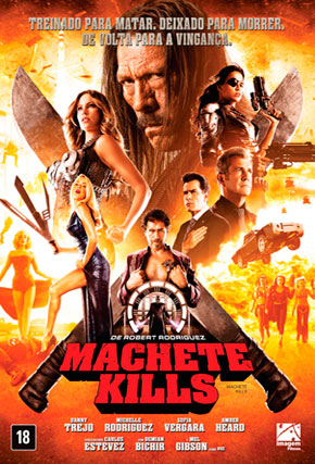 Capa do filme 'Machete Kills'