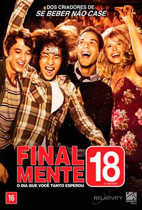 Capa do filme 'Finalmente 18!'