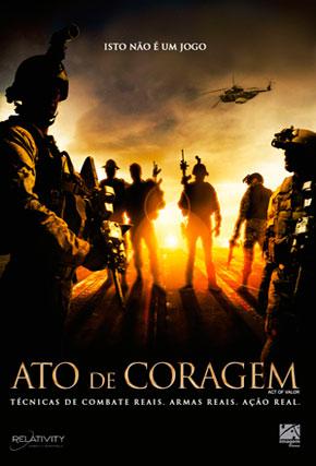 Capa do filme 'Ato de Coragem'