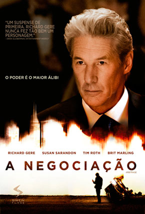 Capa do filme 'A Negociação'
