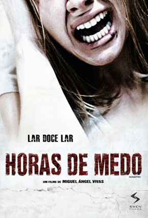 Capa do filme 'Horas de Medo'