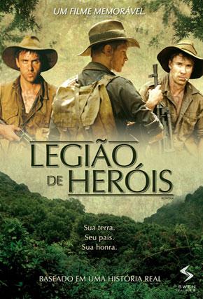 Capa do filme 'Legião de Heróis'