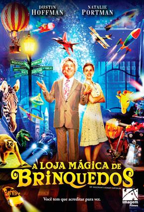 Capa do filme 'A Loja  Mágica de Brinquedos'