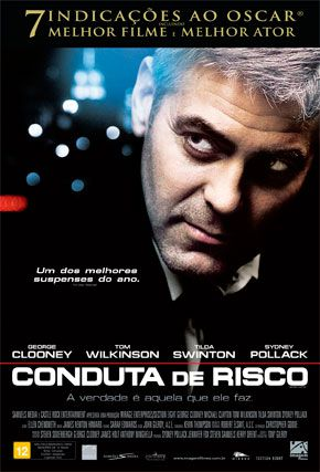 Capa do filme 'Conduta de Risco'