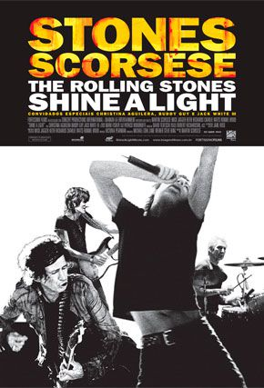 Capa do filme 'The Rolling Stones - Shine a Light'