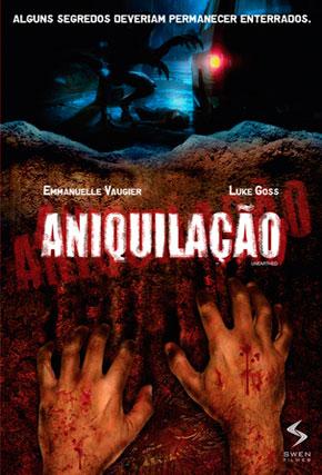 Capa do filme 'Aniquilação'