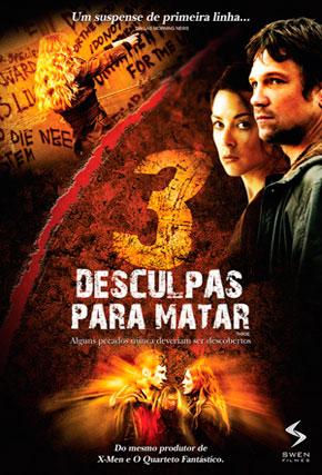 Capa do filme '3 Desculpas Para Matar'