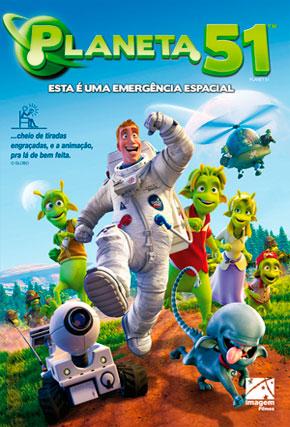 Capa do filme 'Planeta 51'