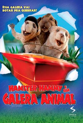 Capa do filme 'Hamster Hammy e Sua Galera Animal'