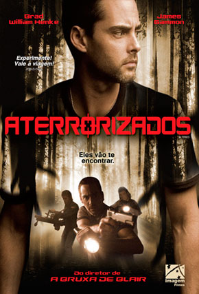 Capa do filme 'Aterrorizados'