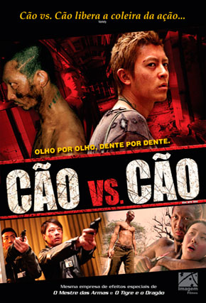 Capa do filme 'Cão vs. Cão'
