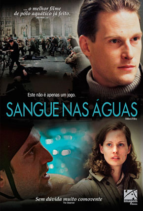 Capa do filme 'Sangue nas Águas'