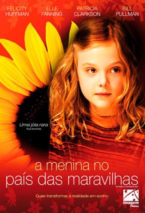 Capa do filme 'A Menina no País das Maravilhas'