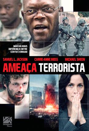 Capa do filme 'Ameaça Terrorista'