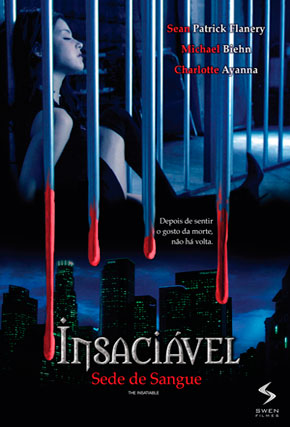 Capa do filme 'Insaciável - Sede de Sangue'