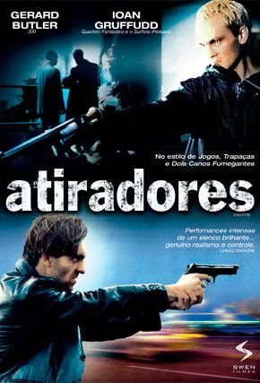 Capa do filme 'Atiradores'